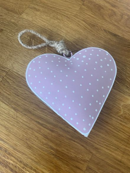 Parlane Pink Spotty Heart
